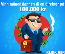 Vinn en direktørs månedslønn
