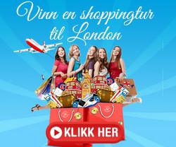 Vinn en shoppingtur til London