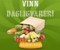 Vinn dagligvarer for 30.000 kr