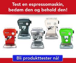 Test espressomaskinen Dream fra Ascaso og behold den