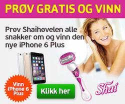 Vinn en iPhone 6 Plus
