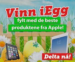 Vinn iEgg fylt med produkter fra Apple