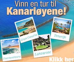 Vinn en reise til Kanariøyene