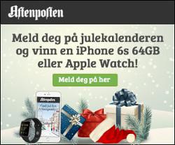 Aftenposten julekalender - Vinn iPhone 6S 64GB