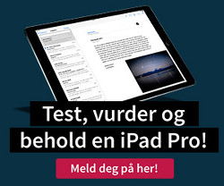 Vinn nye iPad Pro med Smart Keyboard og Apple Pen