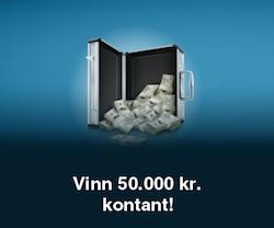 Vinn 50.000 kr. kontant!